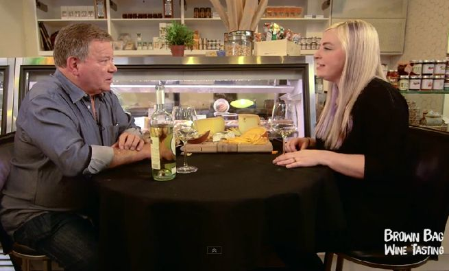 Exclusive Clip: William Shatner Talks Cheese With Marnie Clarke On Brown Bag Wine Tasting