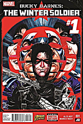 Bucky Barnes The Winter Soldier 1 - Cover