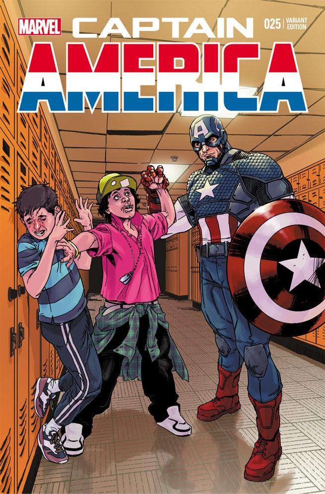 Bullying Captain America