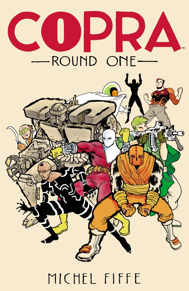 COPRA Round One Cover