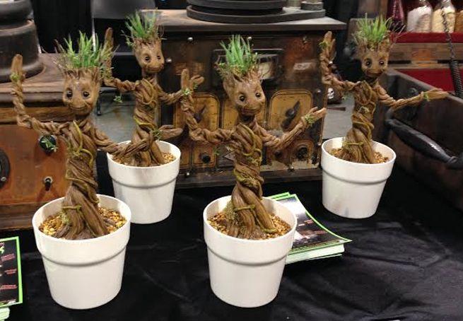 Dancing Baby Groot Figures
