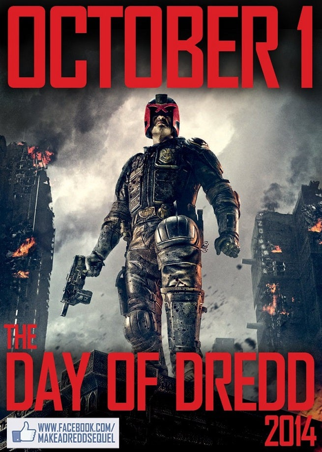 Fans Declare October 1 a Day of Dredd, Pushing Sequel Petition and Home Entertainment Sales