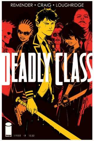 Deadly Class 7 - Cover