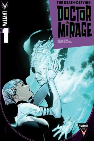 Death-Defying Doctor Mirage 1 - Cover