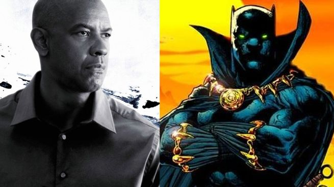 Denzel Washington Expresses Interest In Black Panther Or James Bond Role