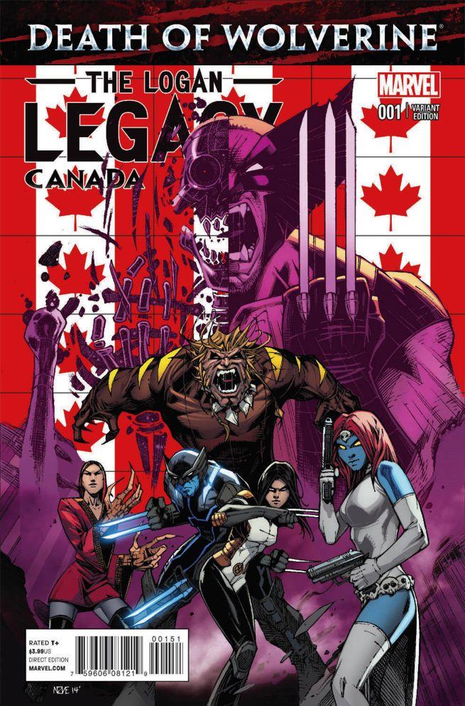 Death Of Wolverine: The Logan Legacy #1