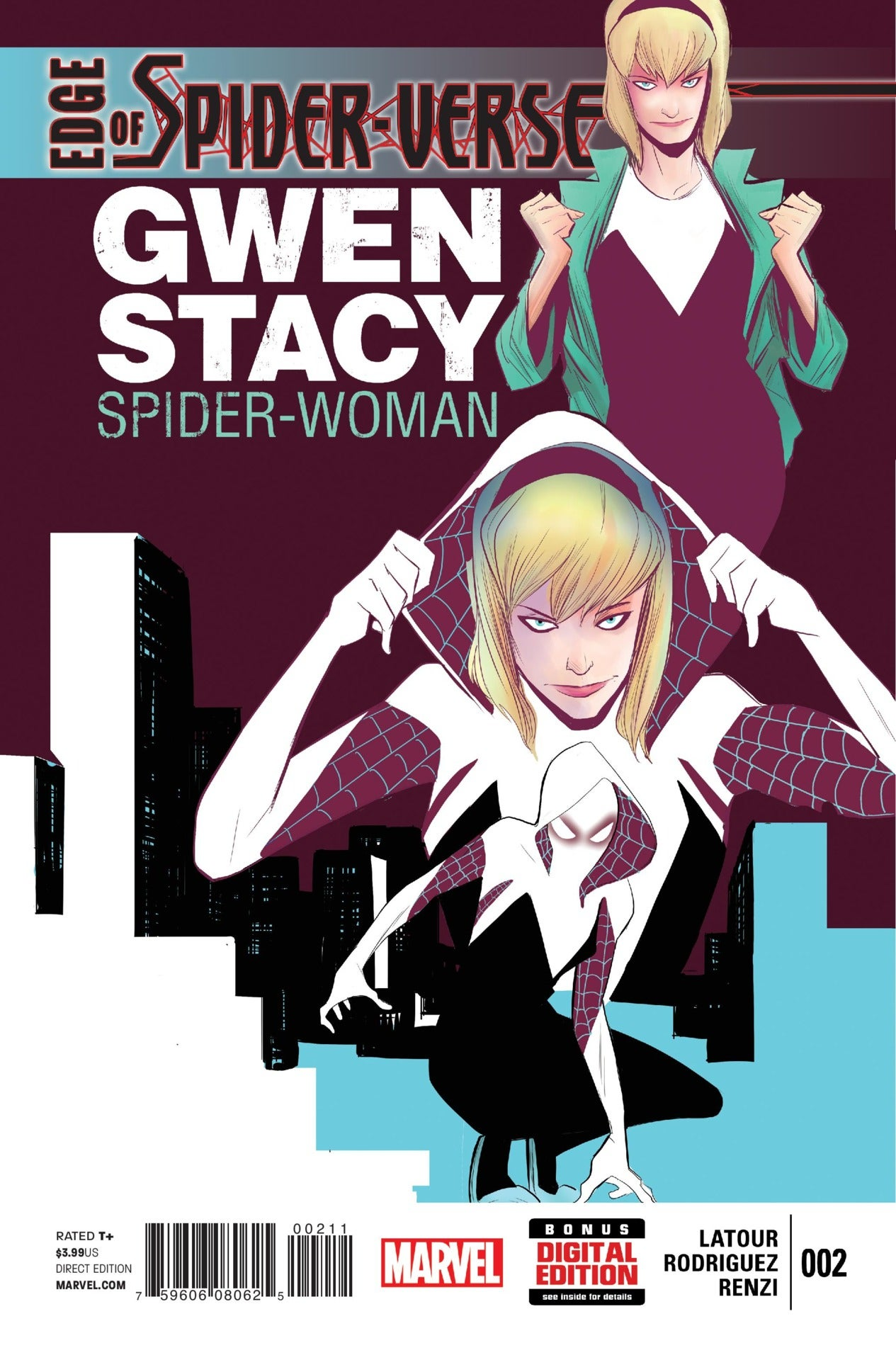 Edge of Spider-Verse 2 - Cover