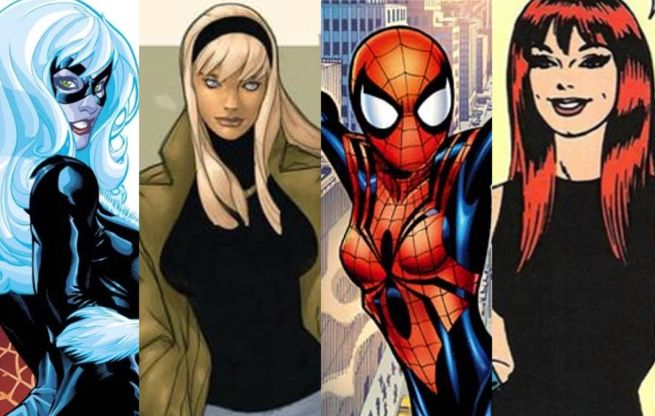 Female Spider-man Universe