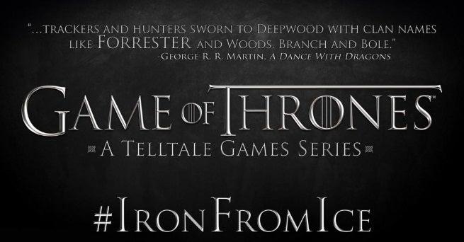 game of thrones telltale game