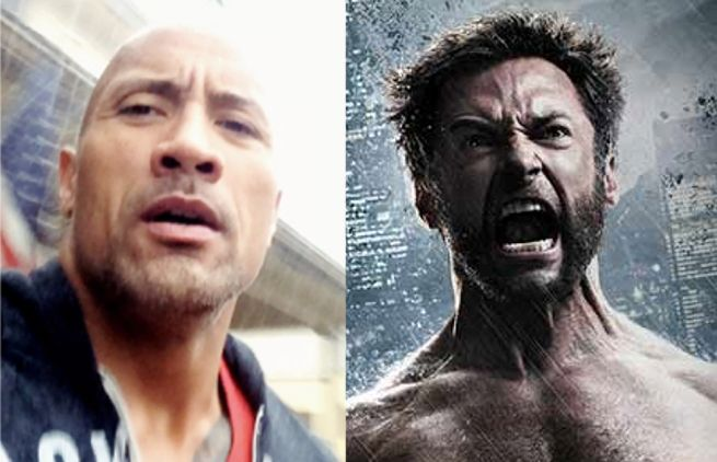 Dwayne Johnson & Hugh Jackman