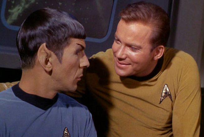 Captain Kirk & Spock