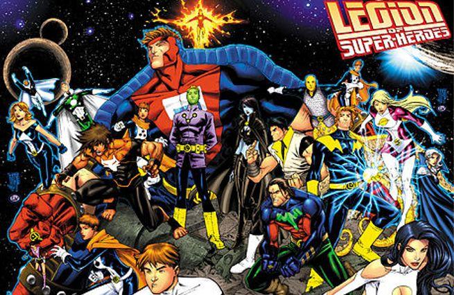 Legion of Superheroes Movie