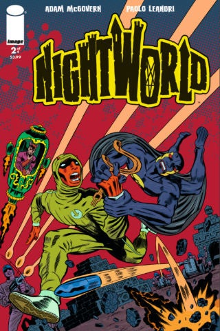 Nightworld Issue 2 front cover - Copy