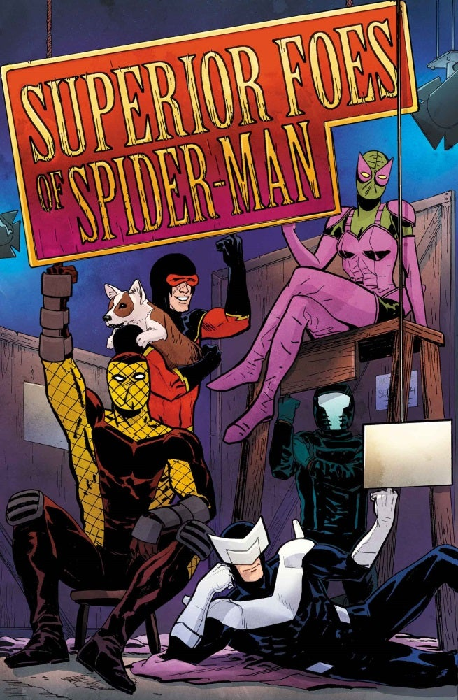 Superior Foes of Spider-Man 15 - Cover