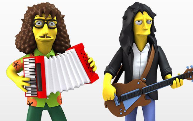 Weird Al Aerosmith The Simpsons