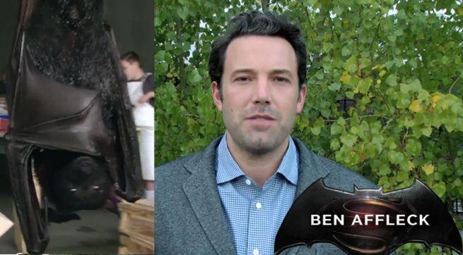 Ben Affleck Save the Bats