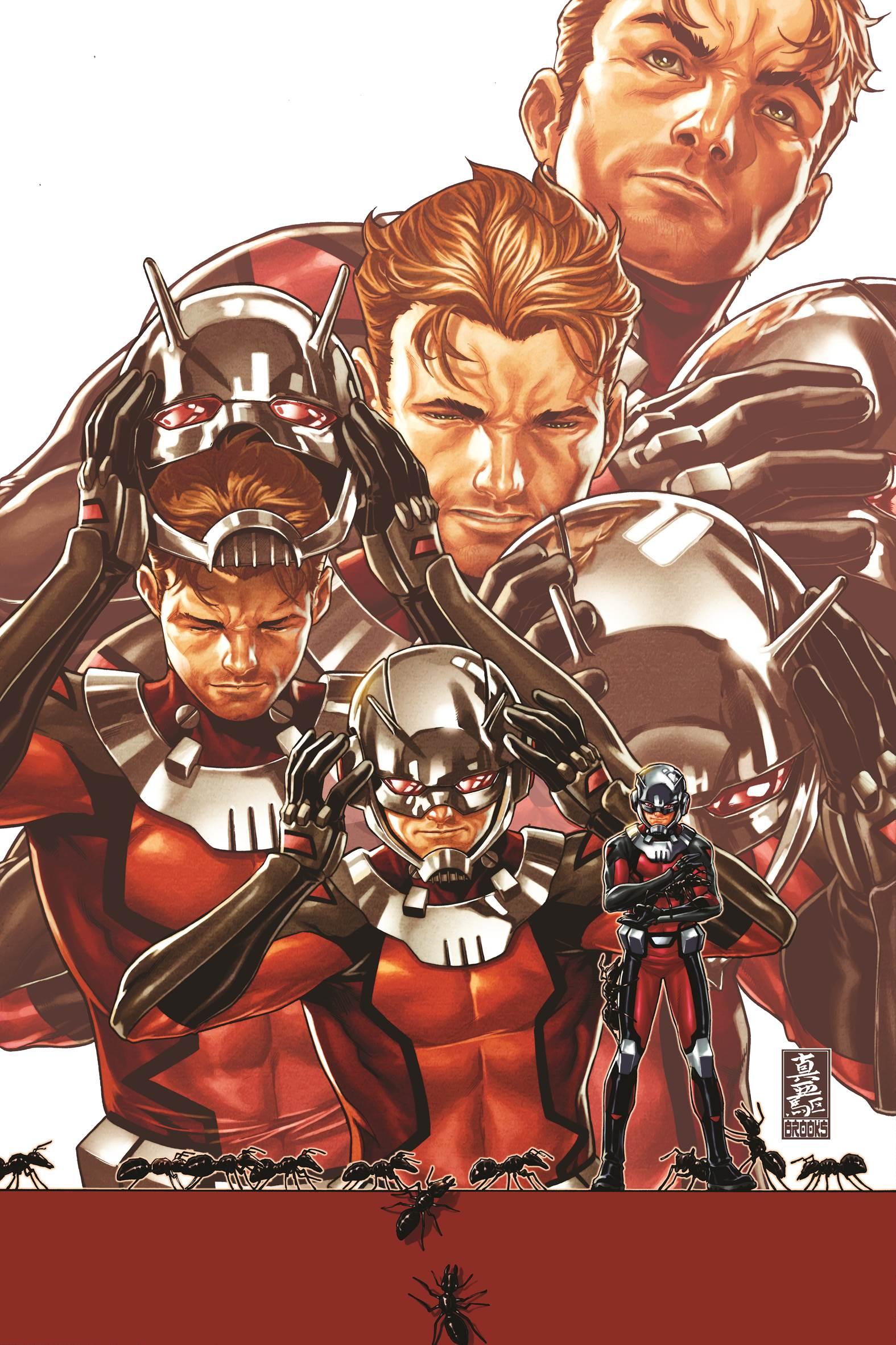Ant-Man 1 Cover Mark Brooks