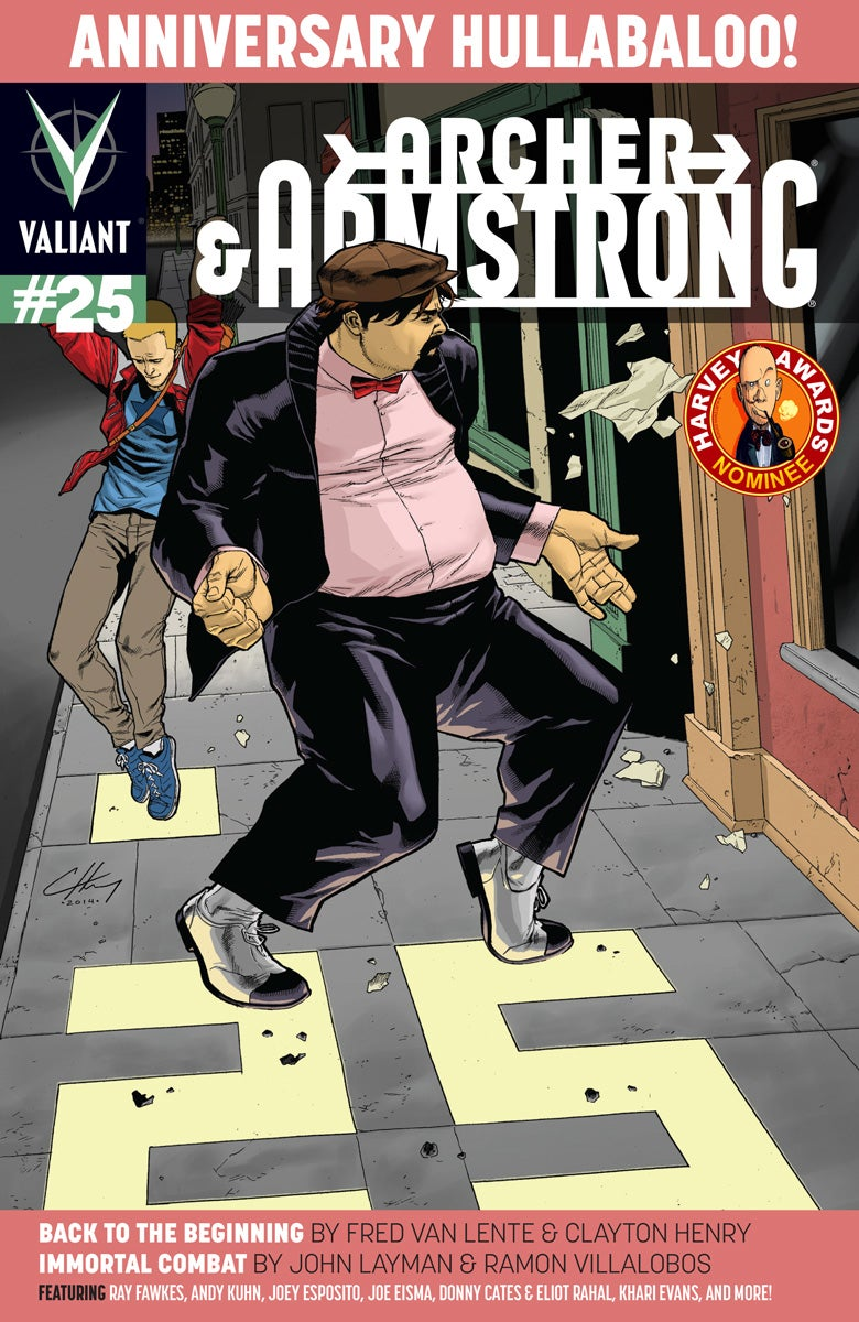 Archer Armstrong 25 - Cover