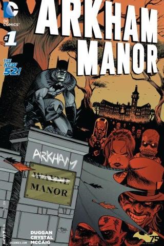 Arkham Manor - Cover