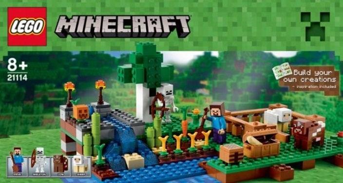 LEGO Minecraft Set Images Leak Online