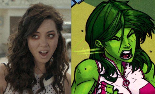 Aubrey Plaza She-Hulk