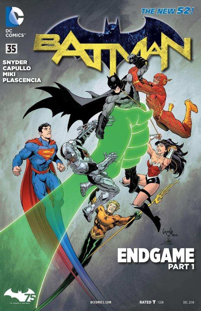 Batman 35 - Cover