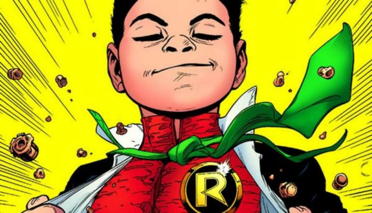Batman And Robin #38 Cover Reveals Damian Wayne Rises?