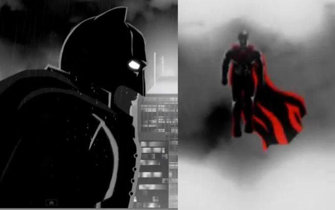 Batman V. Superman Trailer Animated