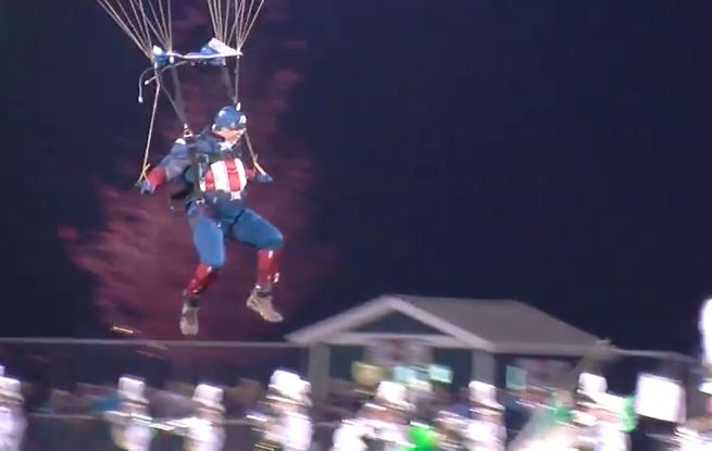 Captain America Parachute