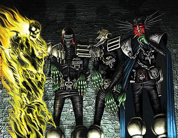 Dark Judges To Be Featured In a Miniseries Free Online From Dredd Producer