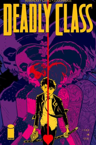 Deadly Class 8 - Cover