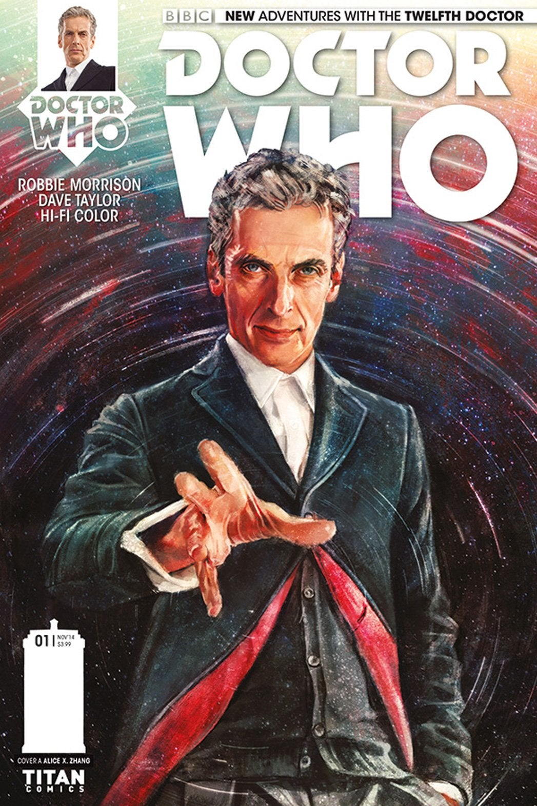 Doctor Who - The Twelfth Doctor 1 - Cover