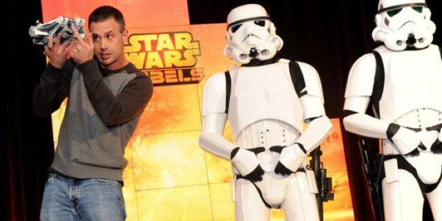 Freddie Prinze, Jr. with Storm Troopers