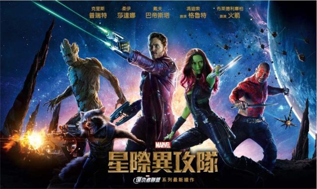 Guardians Of The Galaxy China
