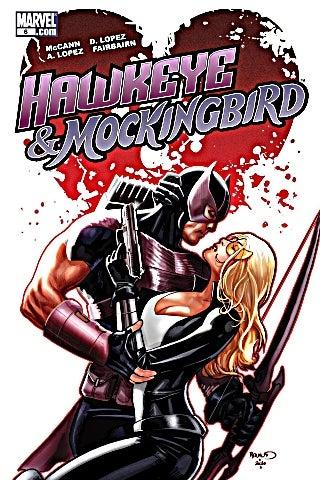 Hawkeye-Mockingbird-1-cover