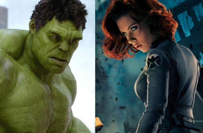 Hulk & Black Widow