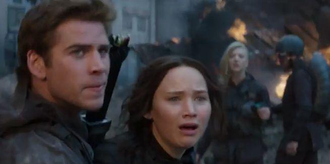 Hunger Games Mockingjay Part 1 Burn