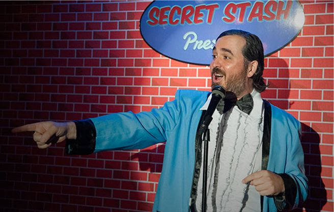 Comic Book Men Exclusive Clip: Stand Up Guys Guest Starring Brian Quinn From Impractical Jokers