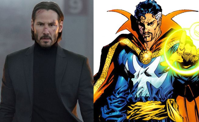 Keanu Reeves Doctor Strange