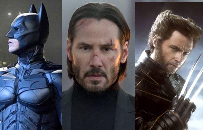 Keanu Reeves Batman Wolverine