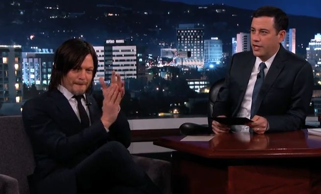 Jimmy Kimmel reviews Walking Dead