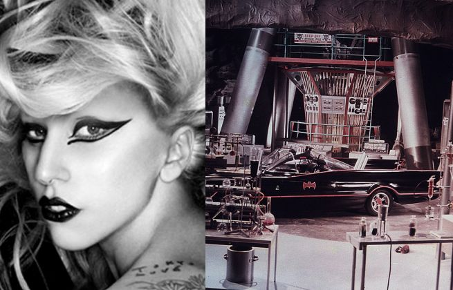Lady Gaga Batcave