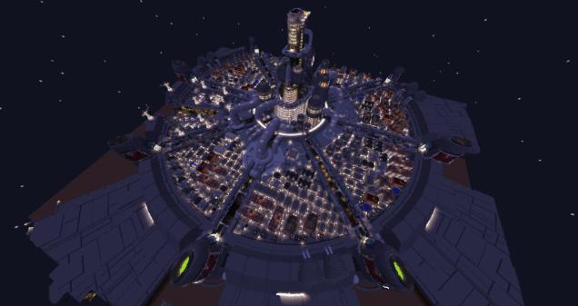 Minecraft Midgar 4