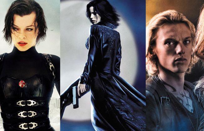 Resident Evil, Underworld, Mortal Instruments TV