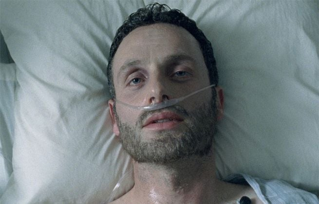 Rick Grimes The Walking Dead Coma
