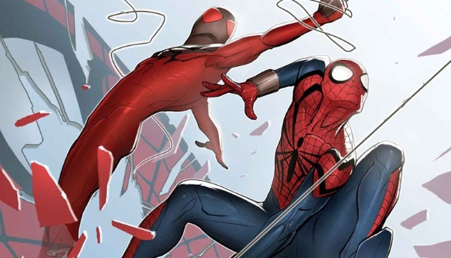 Scarlet Spiders 1 Cover top