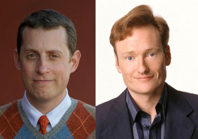 Scott Gimple & Conan O'Brien