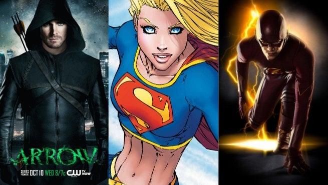 supergirl arrow flash