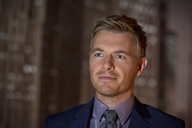 Rick Cosnett as Eddie Thawne is back on The Flash Season 2