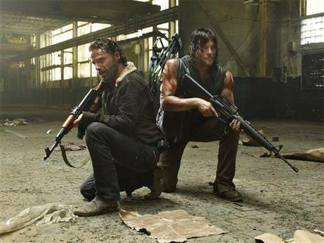 The Walking Dead Season 5 Marthon